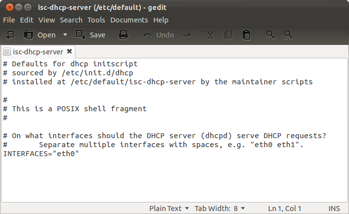 isc-dhcp-server