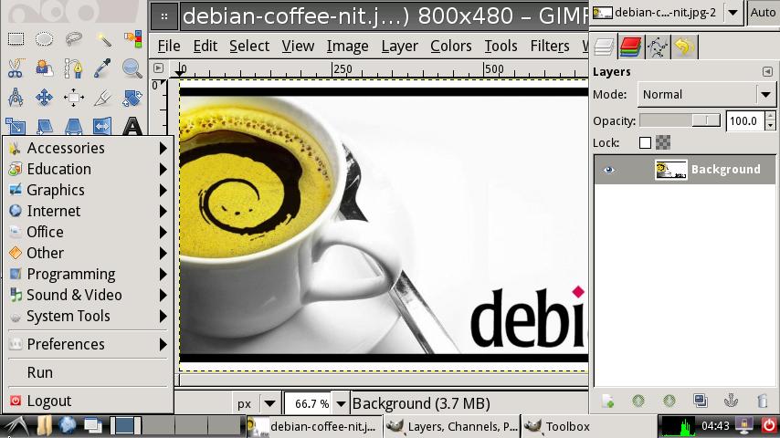 Debian Armel на Nokia N9